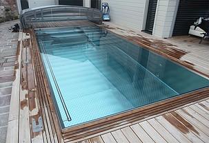 Réalisation piscine hydroflow particulier