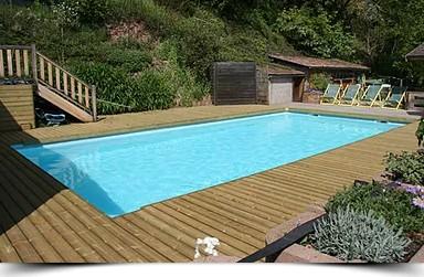 Réalisation piscine hydroflow hotel