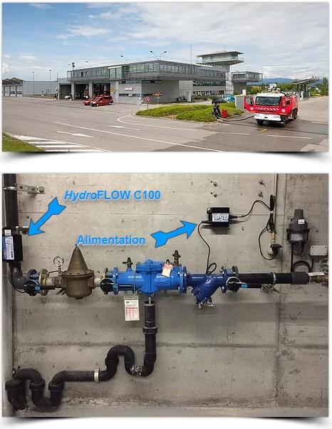 Réalisations aéroports hydroflow