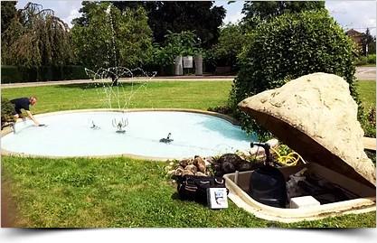 Réalisations fontaines hydroflow
