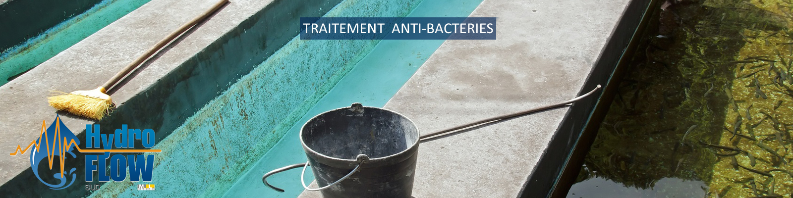 Traitement anti bactéries hydroflow